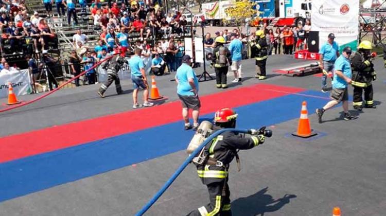 Ayer comenzó el VIII Desafío de habilidades bomberiles 2019