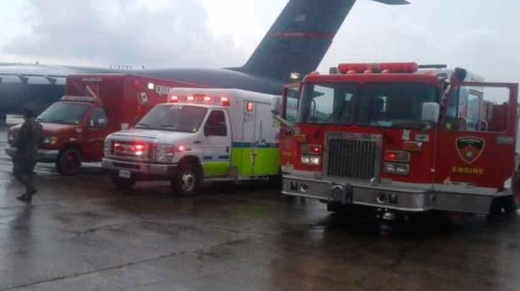 Vehículos de emergencia para bomberos llegan a Guatemala