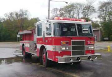 Nueva Motobomba adquirida por los bomberos de Xela
