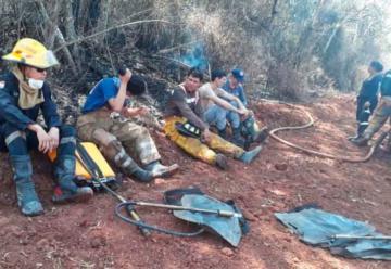 Bomberos no cuentan con equipos y piden auxilio a autoridades