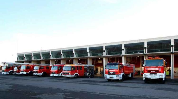 Siete bomberos se incorporan al parque de Santander