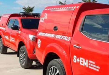 Nuevas unidades para bomberos forestales
