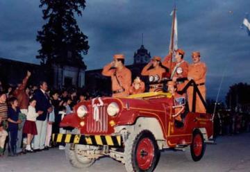 Bomberos de Alta Gracia festejó 60 años de su creación