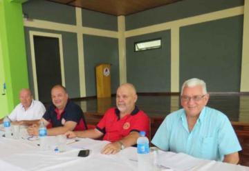 Federación de Bomberos Voluntarios ratificó su conducción