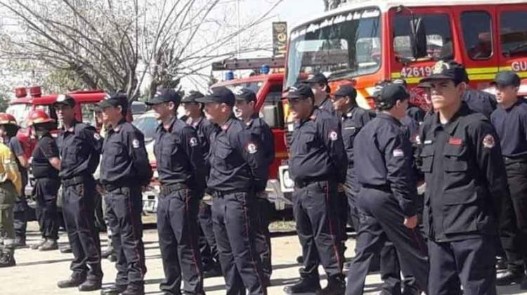 Bomberos Voluntarios de Guaymallén cumplieron 50 años