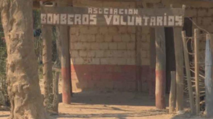 Salta: Un cuartel de Bomberos, sin gente ni equipos ni agua