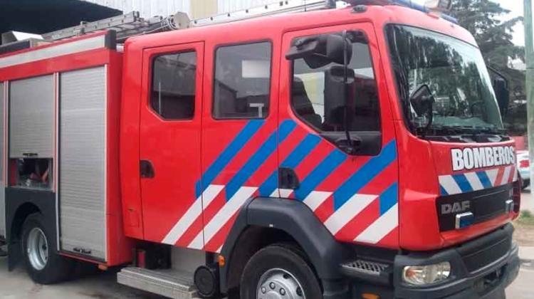 Nuevo autobomba para Bomberos Voluntarios Despeñaderos