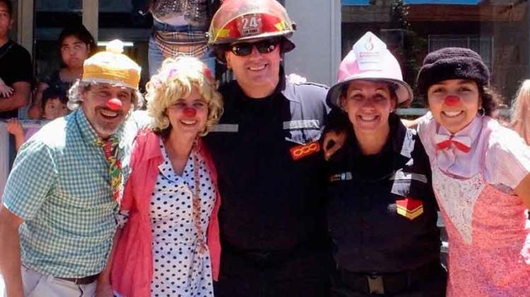 Jornada solidaria donde la comunidad podrá colaborar con los bomberos