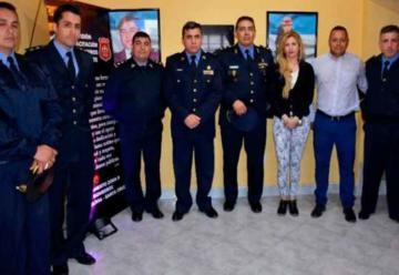 Bomberos de la Policía inauguró sala de capacitación en Caleta