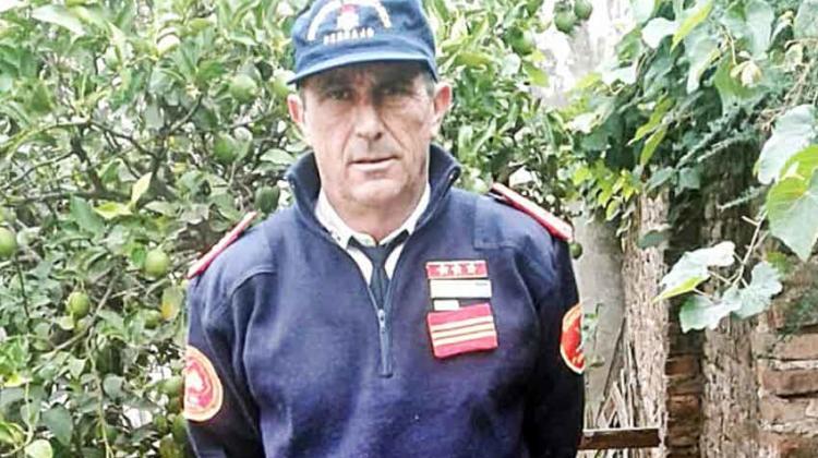 Orgullo de ser bombero voluntario