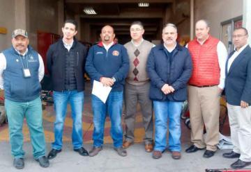 Entregan equipo al Cuerpo de Bomberos Voluntarios de Nogales