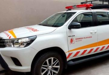 Dos camionetas del narcolavado fueron entregadas a Bomberos