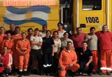 Los Bomberos de Córdoba se capacitan en el RUBA