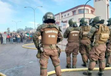 Bomberos interpone recurso de protección en contra de Carabineros
