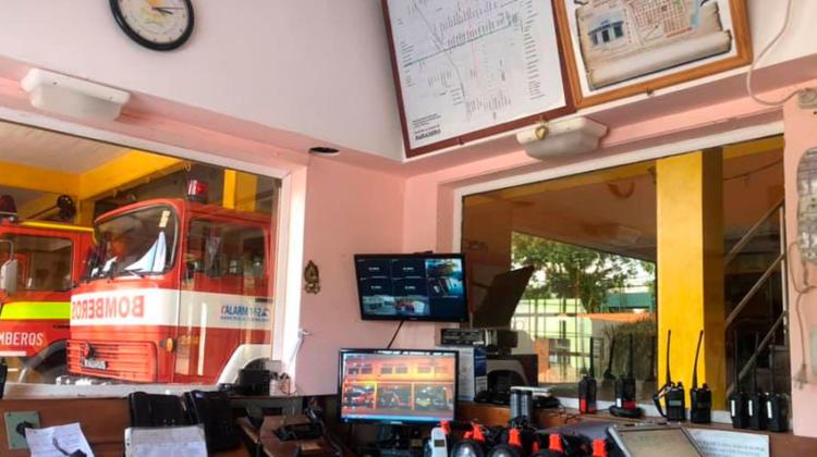 Bomberos de Baradero con nuevo sistema de comunicaciones