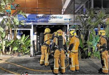 Varios bomberos intoxicados por problemas con los equipos de respiración