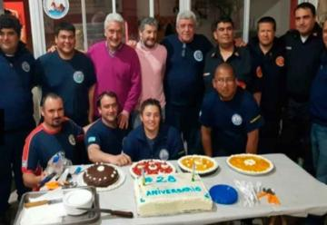 Bomberos Voluntarios de San Blas festejaron su aniversario