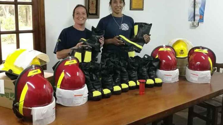Bomberos Voluntarios Sierra de los Padres con nuevos equipos
