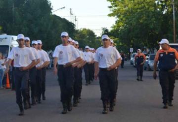 6º Encuentro provincial de Cadetes de Bomberos Voluntarios