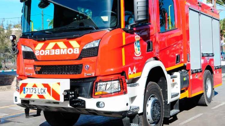 Bomberos cuentan con un nuevo vehículo para emergencias