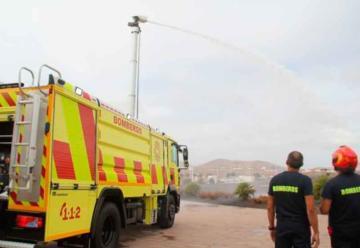 Nuevo camión Bomba Nodriza Pesada para el Servicio de Bomberos