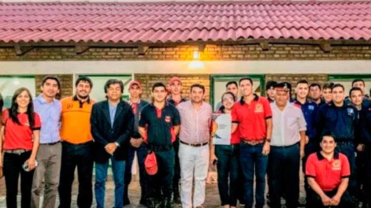 Personería jurídica para Bomberos de Fray Mamerto Esquiú