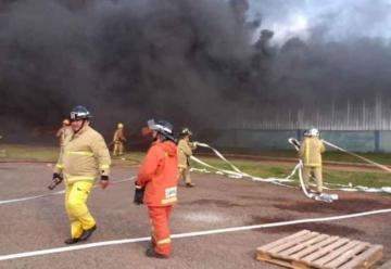 Caída de helicóptero e incendio deja al menos 15 heridos