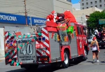 Bomberos de Comodoro Rivadavia inician la colecta de golosinas