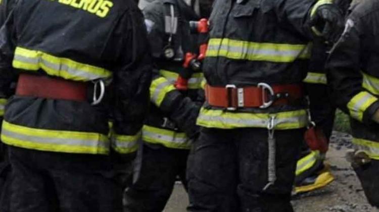 Dos bomberos quedan hospitalizados por quemaduras