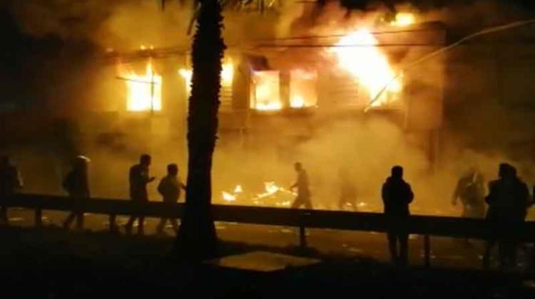 Saquean e incendian dependencias del hospital de Coquimbo