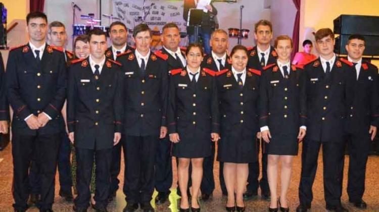 Bomberos Voluntarios de Ferré celebró sus 11 años de labor