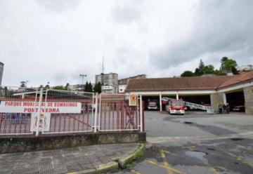 Un bombero de Vigo resultó herido de gravedad en una práctica