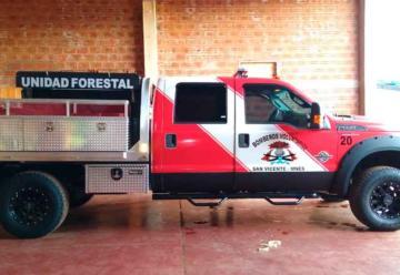 Bomberos de San Vicente presentaron Nueva Unidad