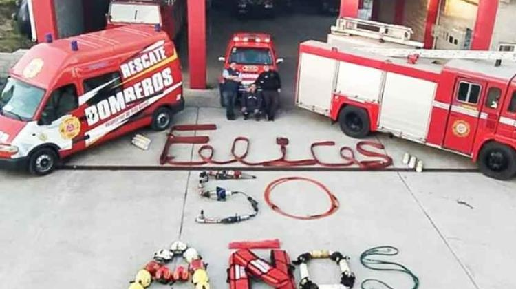 50º aniversario de los bomberos de Villa Gesell