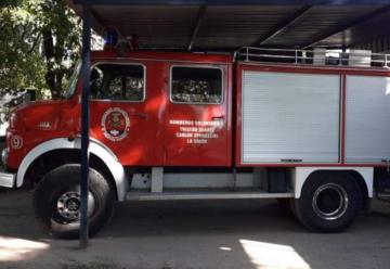 Bomberos de Tristán Suárez inauguraron un nuevo cuartel en Spegazzini