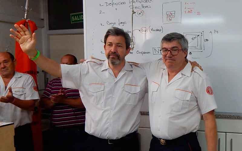 Nuevas Autoridades en la Federación Bomberos Voluntarios de Córdoba