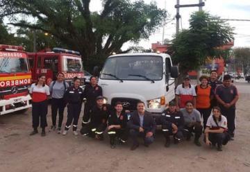 Bomberos Voluntarios de Yerba Buena compra nuevo camión