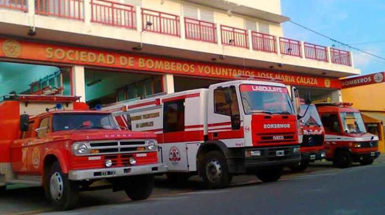 Bomberos Voluntarios de Laboulaye cumplió 64 años