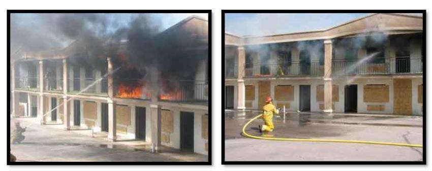 """""""Ataque transicional al fuego"""""""