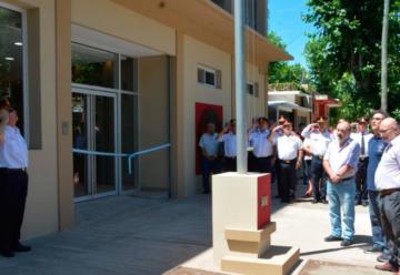 Bomberos Voluntarios de Marcos Paz inauguró anexo