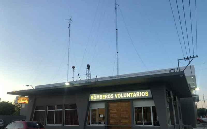Bomberos de Carlos Casares con nuevas comunicaciones