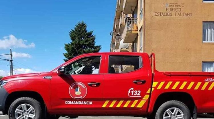 Bomberos de Loncoche cuenta con nueva unidad