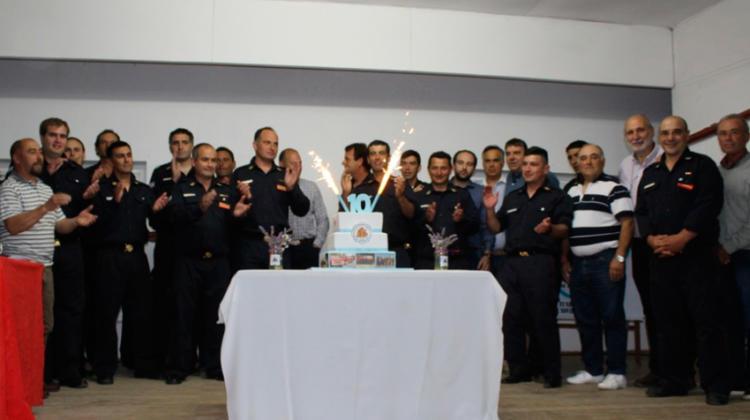 Los Bomberos de Bellocq celebraron sus primeros 10 años