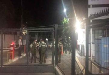 Impidieron paso de Bomberos tras explosión en Maipú
