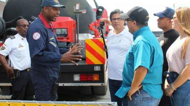 Bomberos de Cartagena cuenta con vehículo contra forestales
