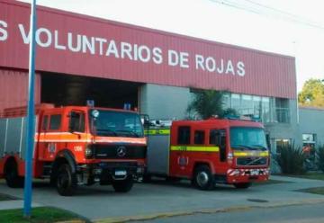 Bomberos Voluntarios de Rojas conmemoró su 62º aniversario