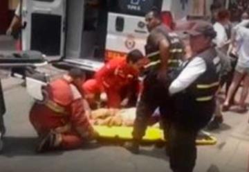Un bombero herido tras incendio de proporciones