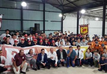 Exitoso encuentro de cadetes de Bomberos en San José