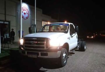 Bomberos de Bordenave compro nuevo camioneta