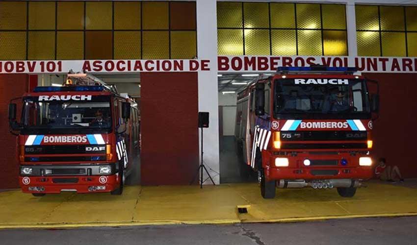 Bomberos Voluntarios de Rauch con dos nuevas unidades